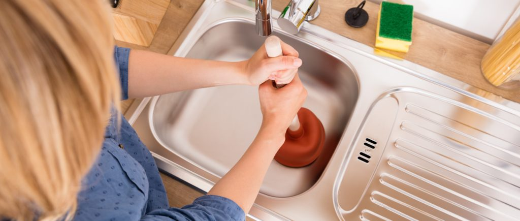 Learn about home warranties on plumbing systems and how to clear your drain. | SHW Blog